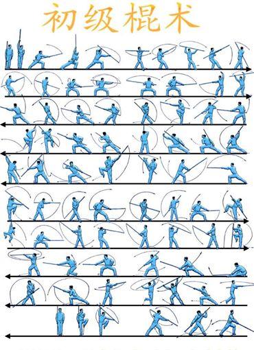 palo de kung fu
